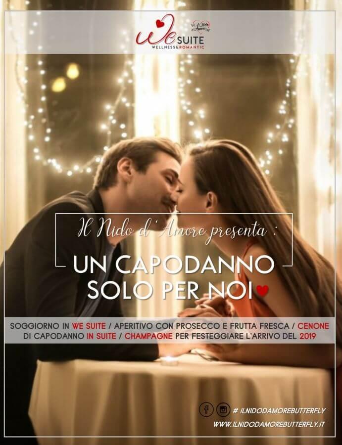Capodanno romantico solo per due in We Suite del Nido d\' Amore
